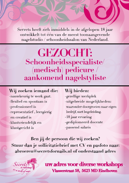 Erkend Leerbedrijf Koc En Ecabo Secrets For Nails And Beauty